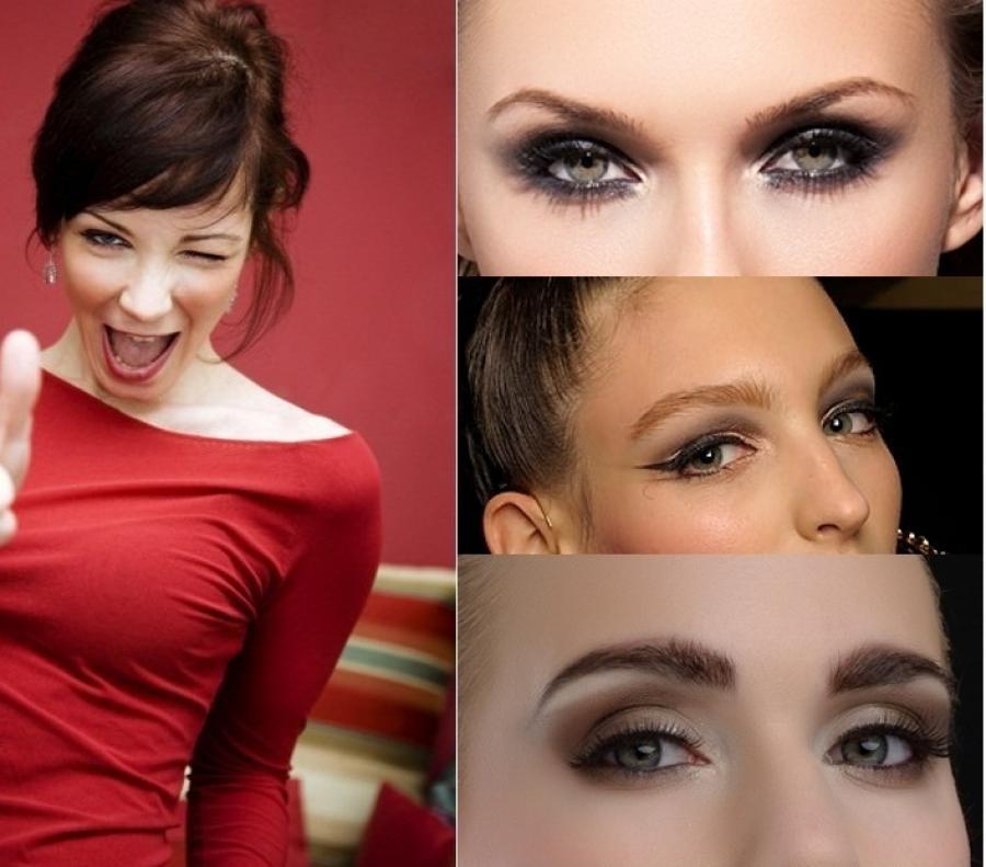 Корректный макияж привнесет чувственные нотки в имидж брюнетки