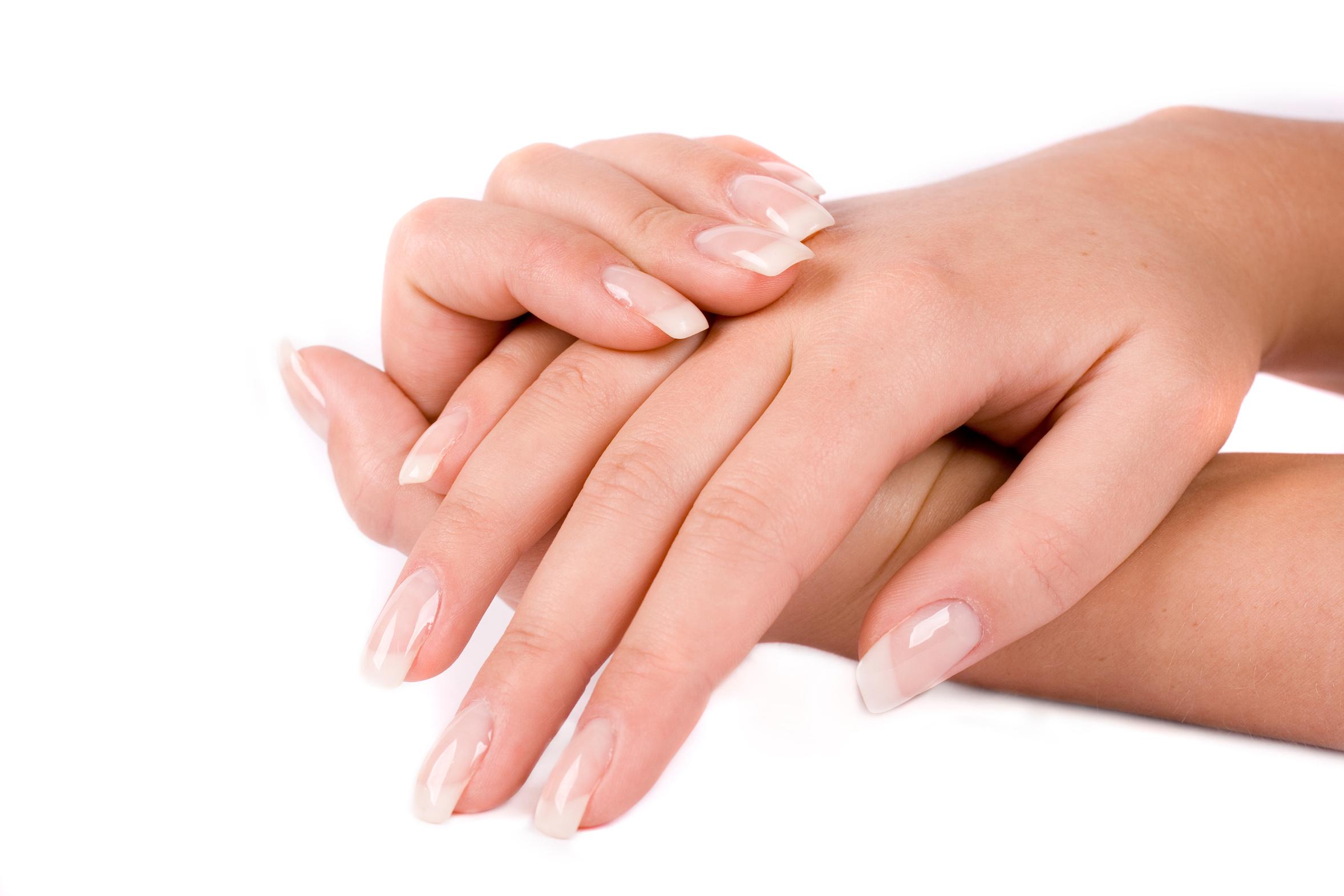 Здоровый вид рук
