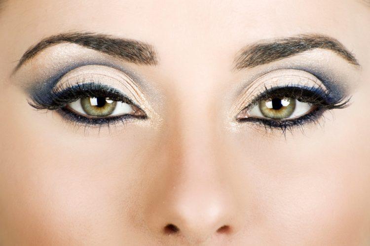 Макияж Глаза богини