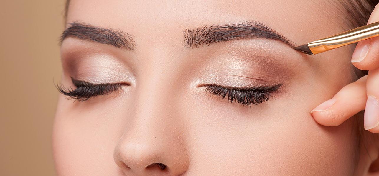 Как красить брови тенями поэтапно, пошагово: как накрасить правильно и красиво