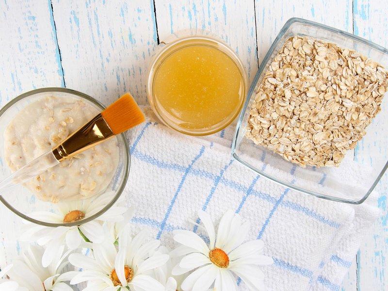 Умывание овсянкой – рецепт приготовления очень прост