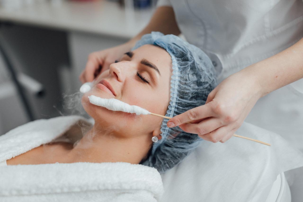 Криотерапия лица жидким азотом