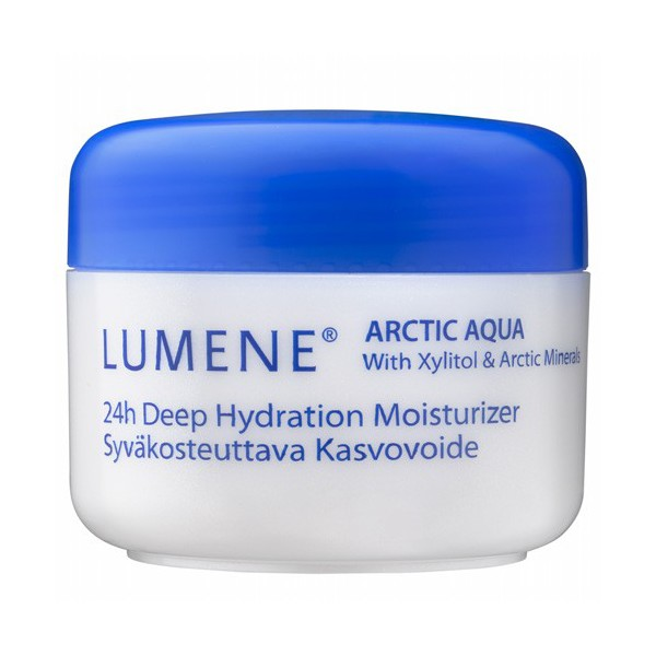 Крем Lumene Arctic Aqua не сушит кожу и не забивает поры