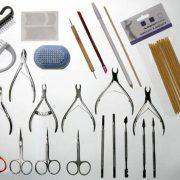 Полный набор инструментов для маникюра