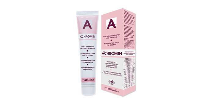 Отбеливающий крем Ахромин