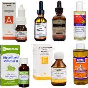 Витамины из аптеки – надежное средство для здоровья ресниц