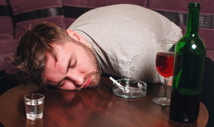 Алкоголь наносит вред здоровью