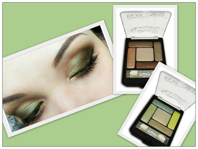 Палитра для зеленых глаз