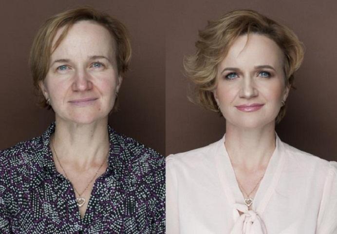 Повседневный макияж кому за 60