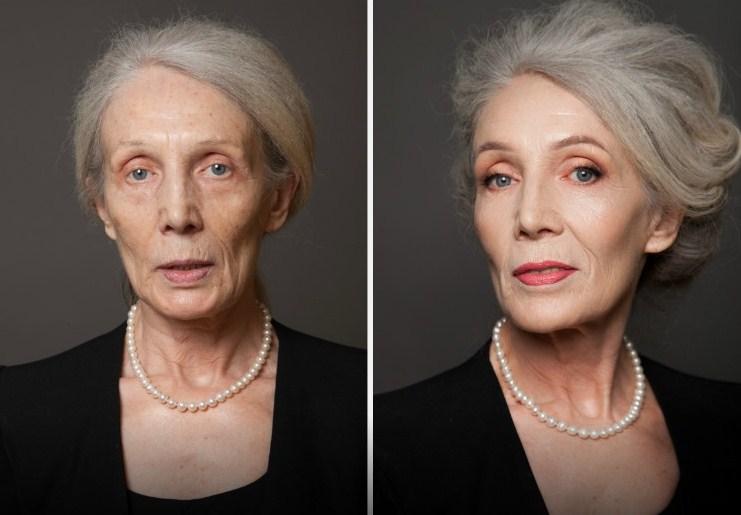 Лифтинг-макияж кому 70 лет