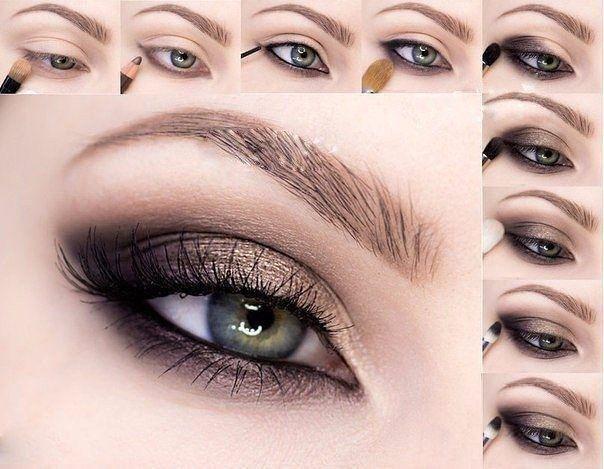При выборе теней первое, на что следует ориентироваться, – это цвет глаз